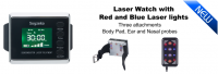 Laser Watch with Red and Blue laser light